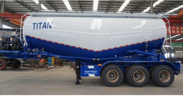 Composition and maintenance of cement tanker trailer