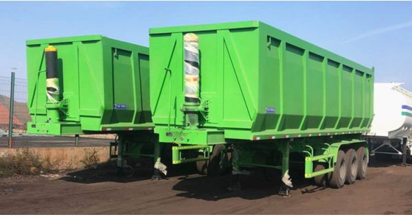 How much does a dump trailer cost? 2 units dump trailer for sale in Nigeria