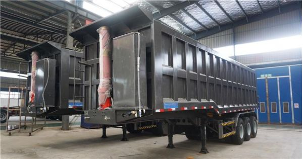 Semi tipper trailers for sale - Dump truck trailer safety tips