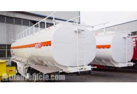 45000Lts Tri Axle Fuel Tanker Trailer will be sent to Nigeria Lagos
