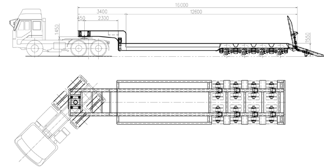 Drawing-TITAN 150 Ton 4 line 8 axles Lowbed Trailer-TITAN VEHICLE.jpg