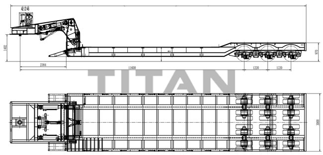 Drawing-100 ton 3 line 6 axles lowbed trailer.jpg