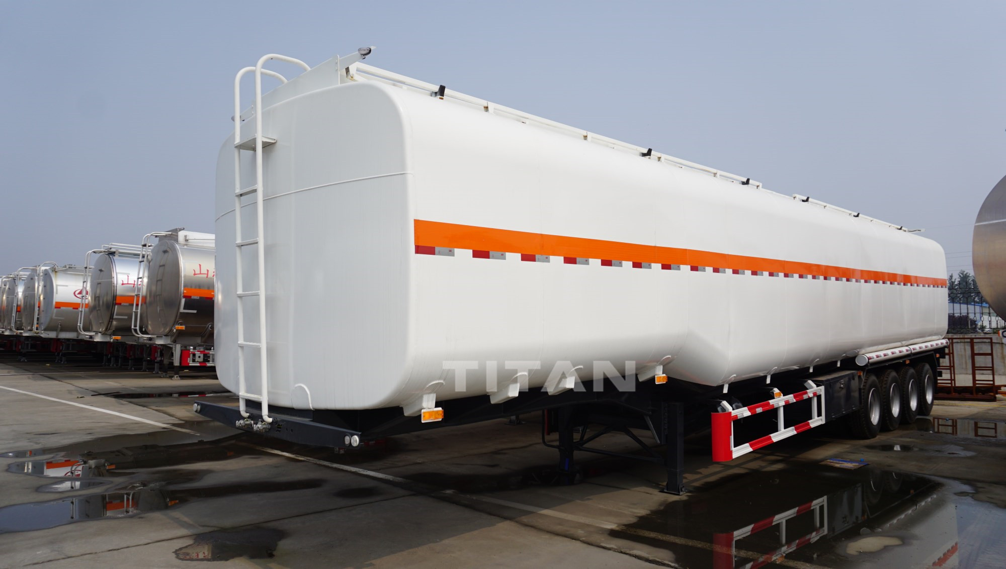 90 cbm oil tank trailer