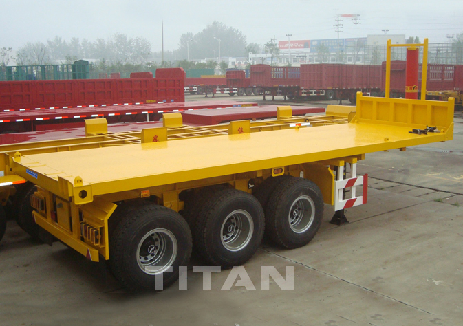 Tipping Flatbed Trailer