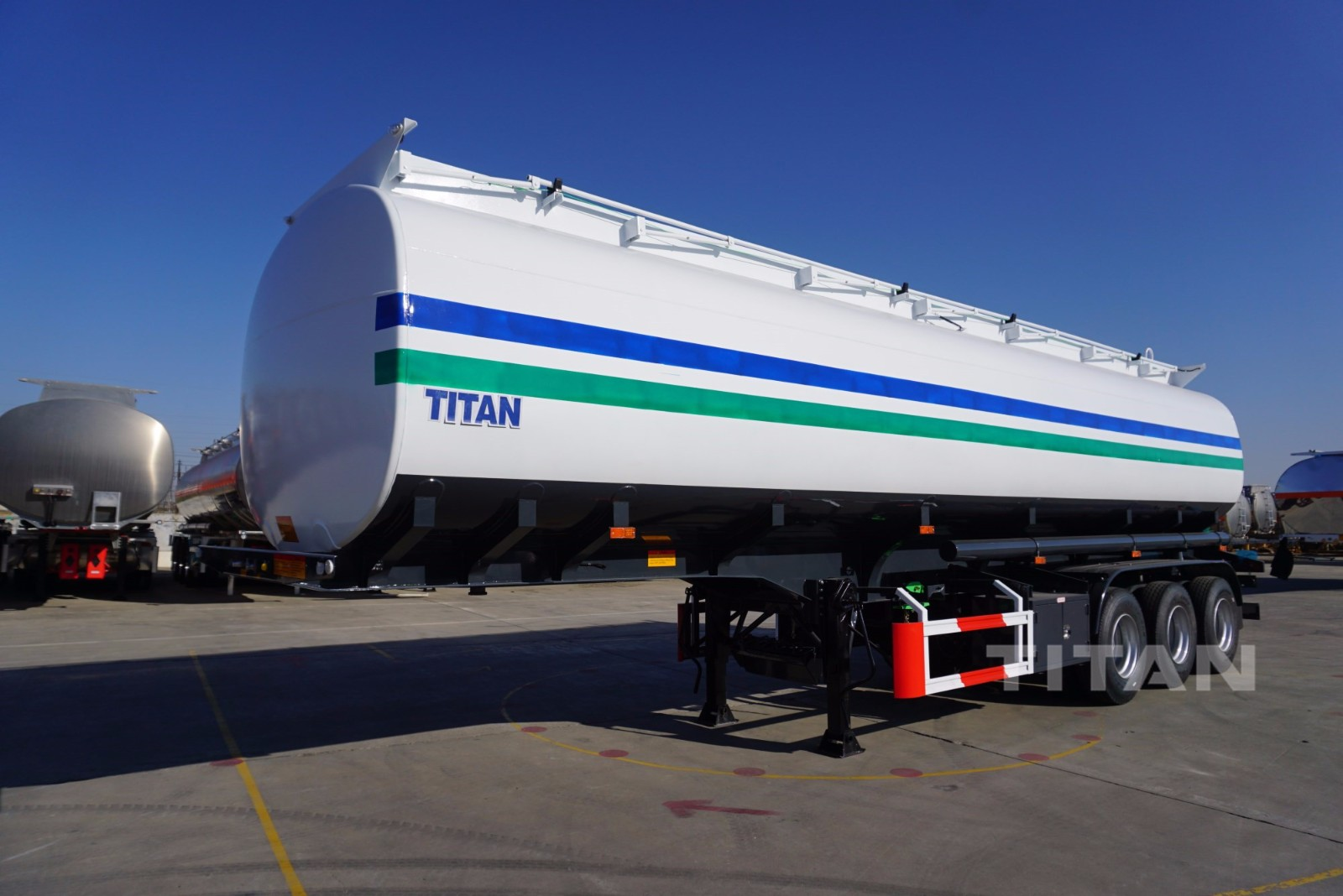 45000 Liters oil tanker semi trailer