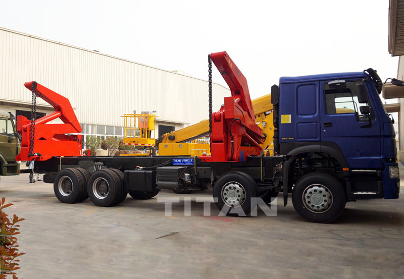 20ft container lift truck
