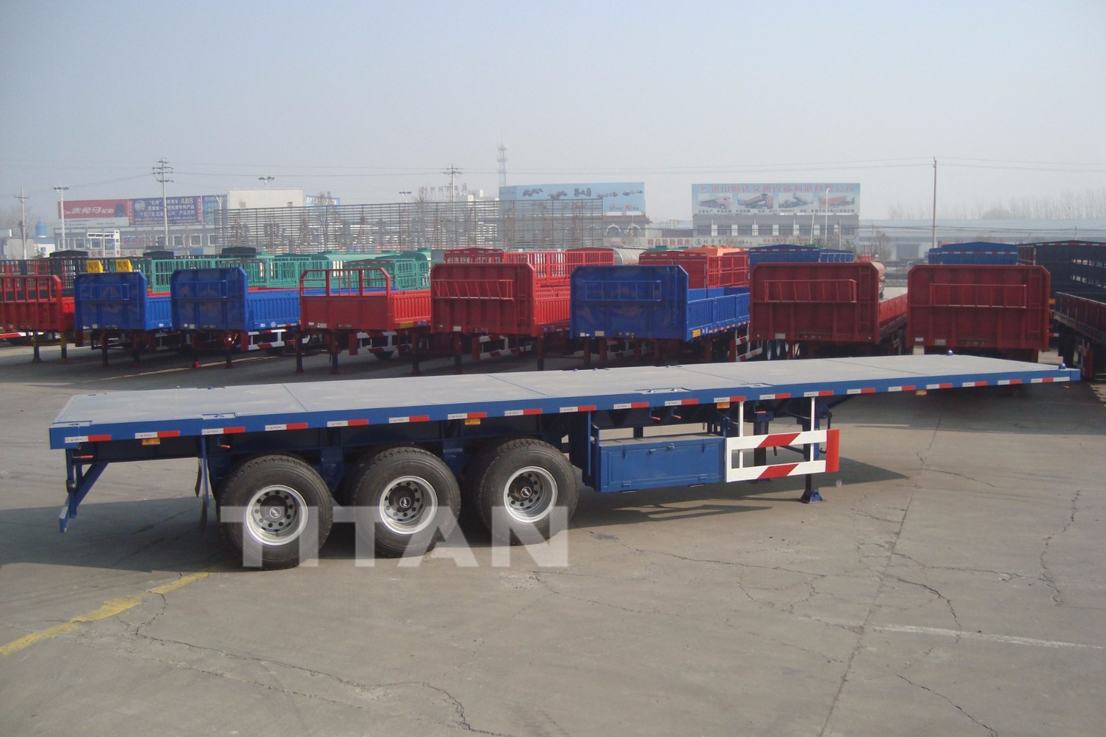 heavy duty flatbed trailers prices