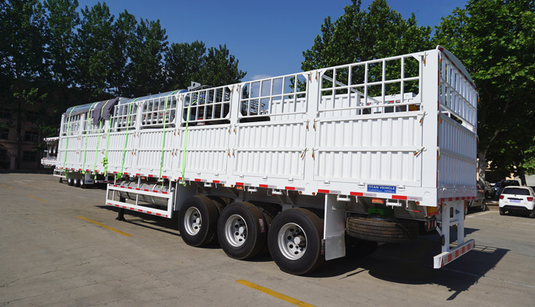 fence cargo trailer for sale