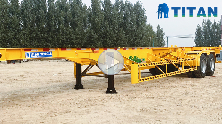 How much does a container chassis trailer cost?