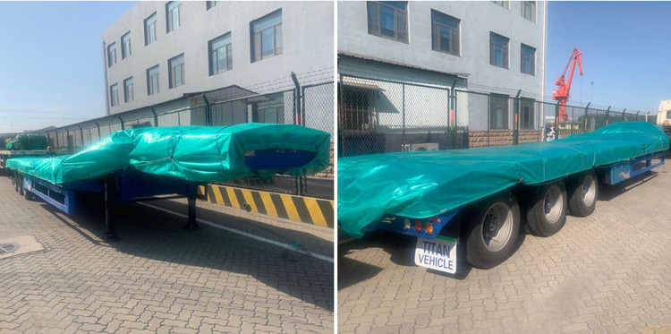 tri axle low loader trailer package