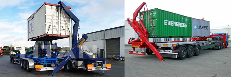 20ft container side lifter