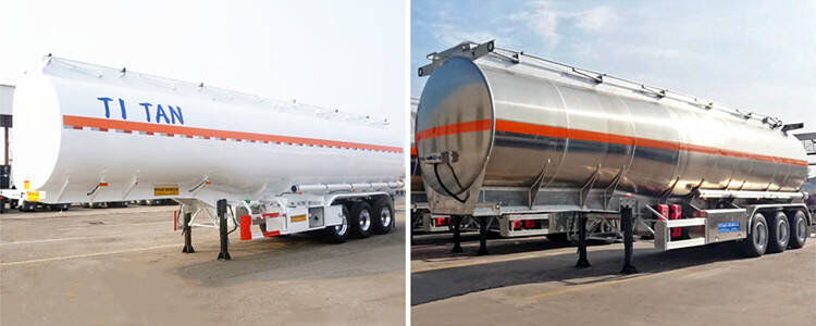 Choosing between carbon steel and aluminum tanker trailer