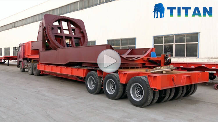 wind turbine tower blade transport trailer for sale