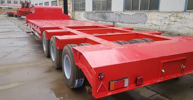3 Line 6 Axle Low Loader Price