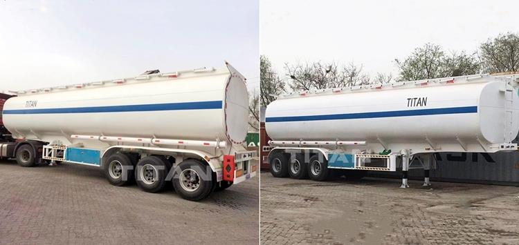 Tri Axle Petrol Tanker Trailer for Sale In Zimbabwe