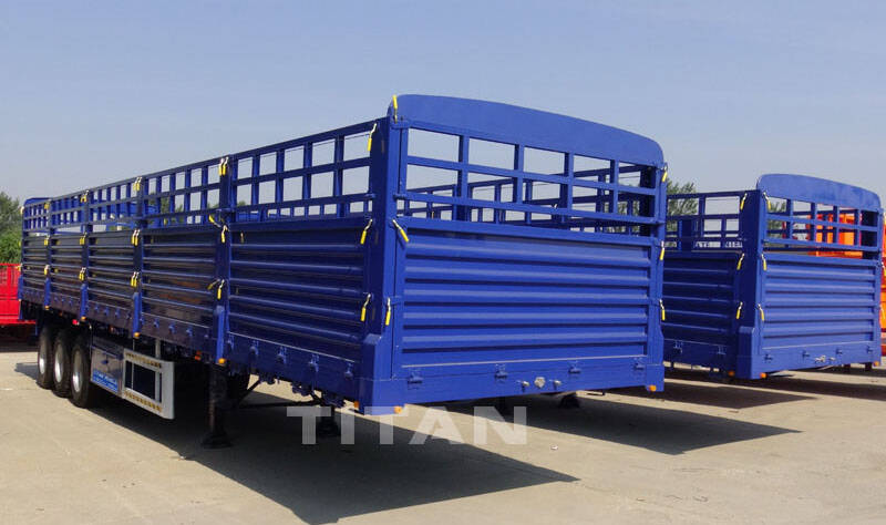 60T Animals Transport Livestock Trailer for Sale in Namibia