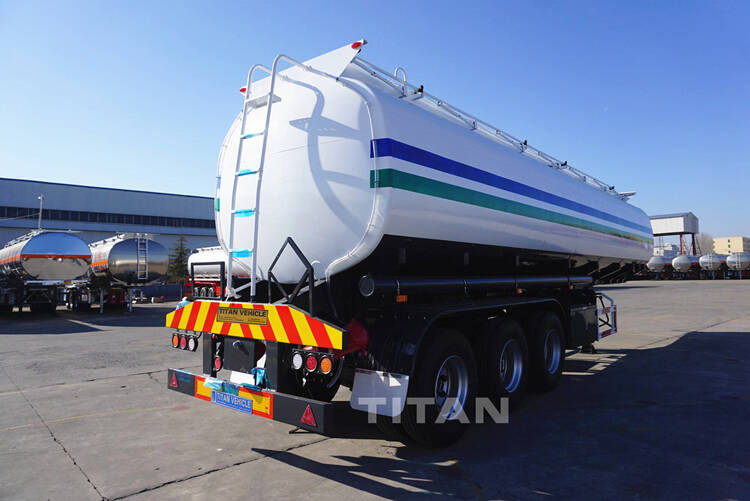 3 Axle fuel tanker trailer