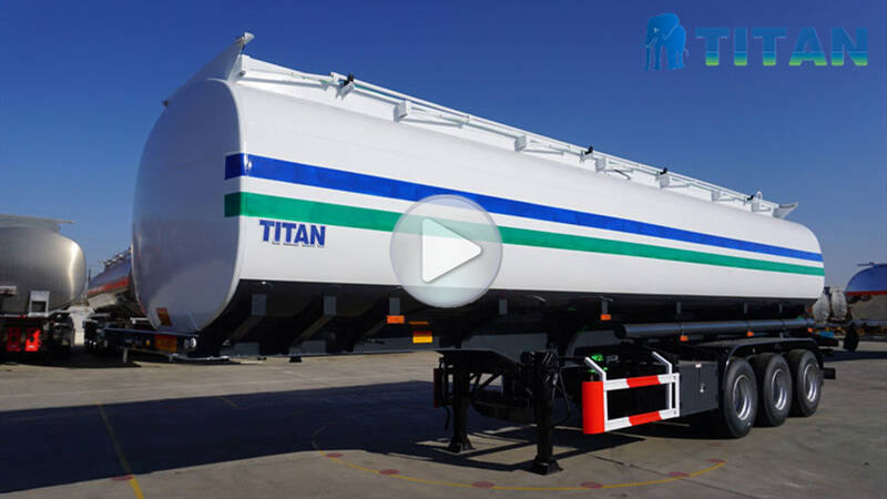 45000L Fuel Tank Semi Trailer display video