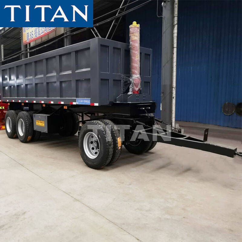 Tri Axle Dump Drawbar Trailer