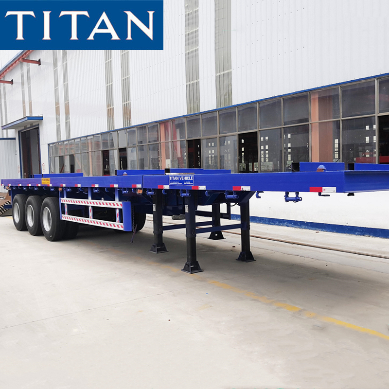 24m Extendable Flatbed Trailer
