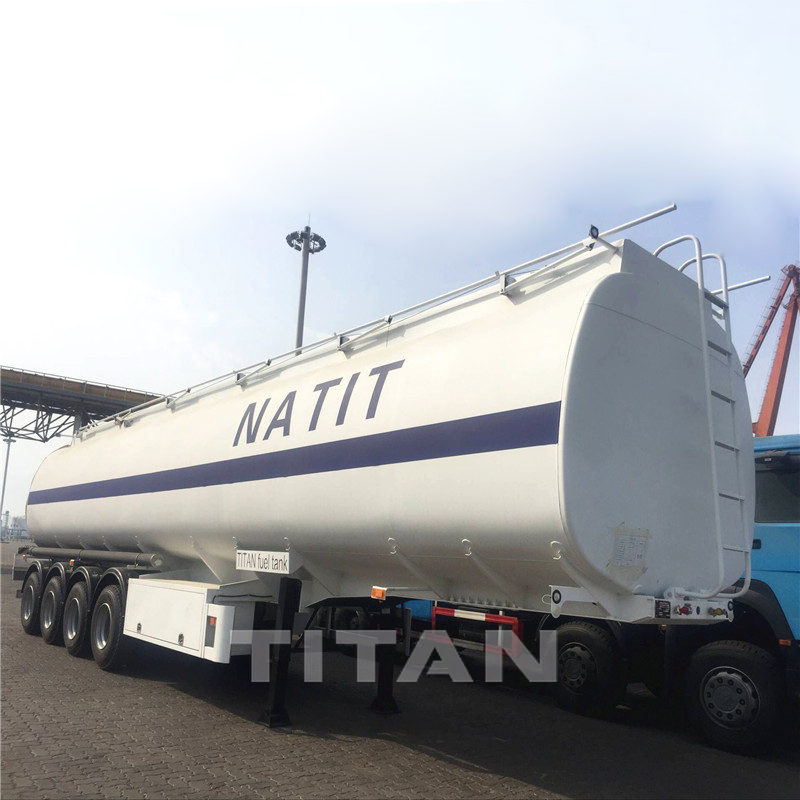 4 axles petrol tanker trailer for sale