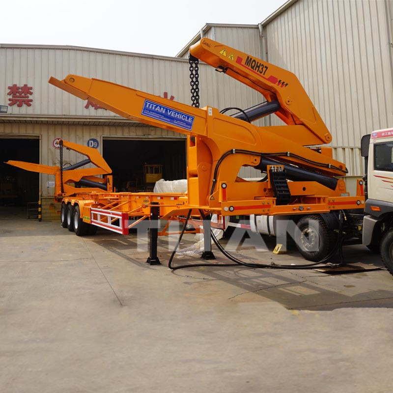 40ft container lift trailer