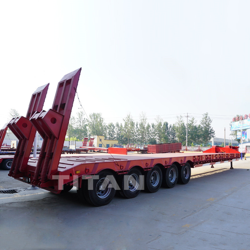 120 ton Lowbed Trailer with 5 axles
