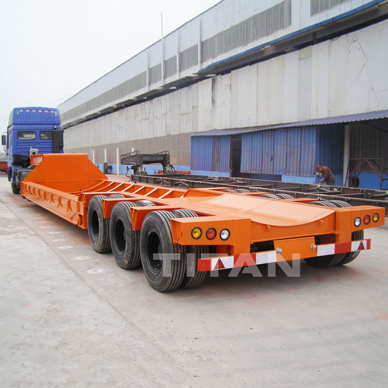 Wind Turbine Tower Transport Trailer