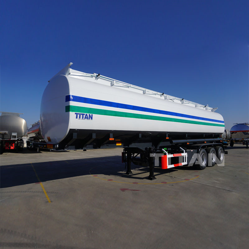 TITAN 45000 Liters oil tanker semi trailer