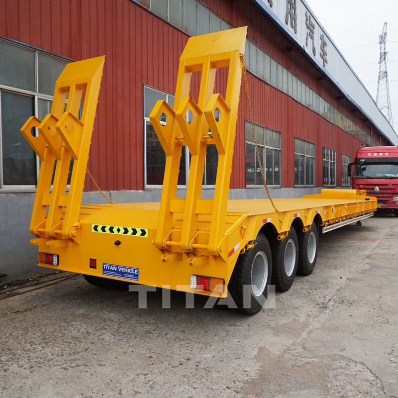 60 Ton Lowbed Trailer 3 axles
