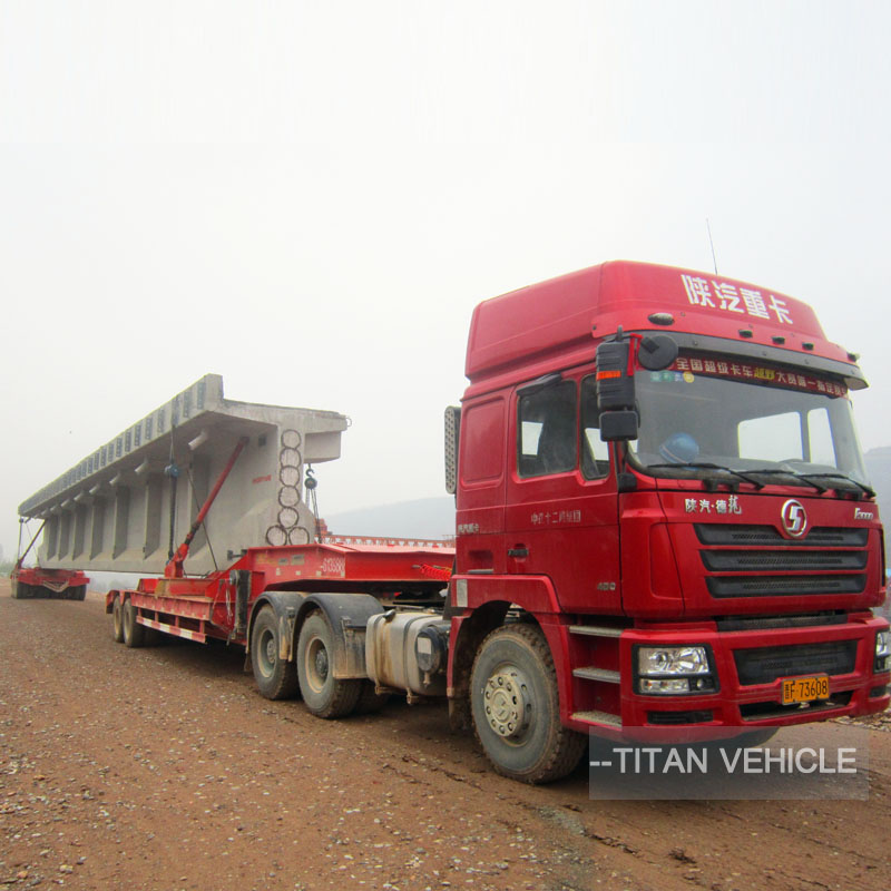 Heavy Duty Girder Bridge Transporter Multi Axle Hydraulic for Bridge Transport