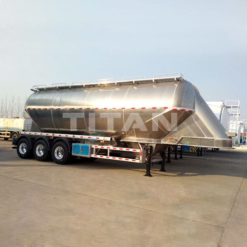 Aluminium alloy Wheat flour trailer