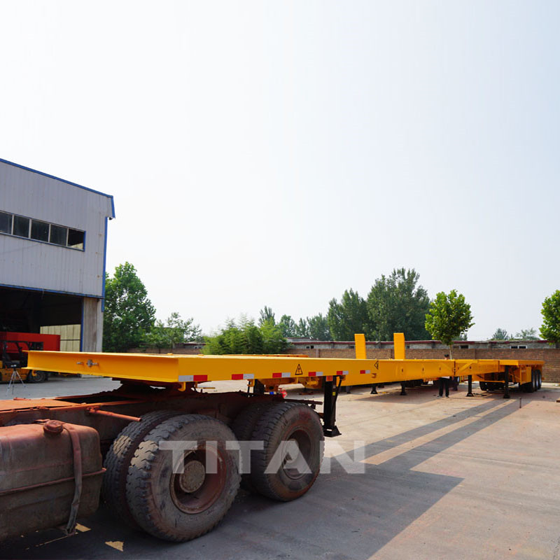 TITAN Flatbed Extendable Trailer