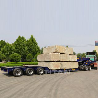 100 Ton Lowbed Trailer with Dolly