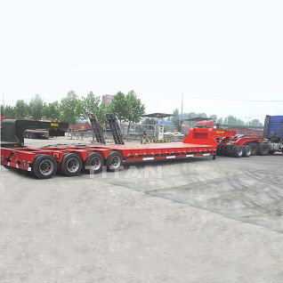 150 Ton Low Bed Trailer with dolly