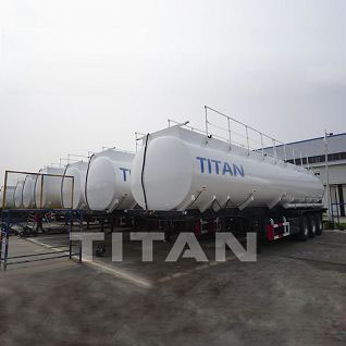 54000 liters Fuel Tanker Trailer