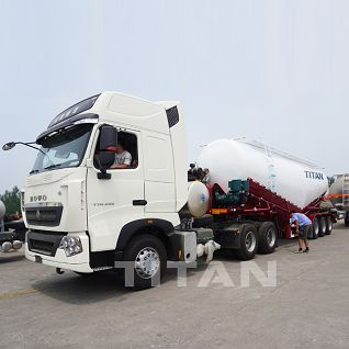 Dry bulk cement trailers for sale