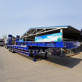 Heavy-duty low floor trailer 45 ton ~ 75 ton
