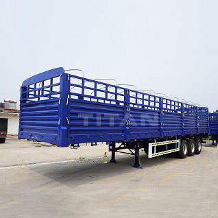 Tri-axle 60 ton Drop Side Trailer
