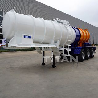 TITAN Chemical Sulphuric Acid Tank Trailer