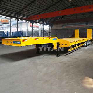 4 axle low loader trailer for sale