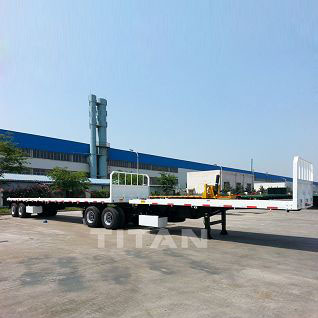 Interlink Flatbed Semi Trailer