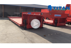 super-low lowbed trailer