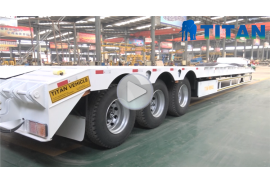80 ton low bed trailer