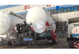 cement tank trailers for shipment