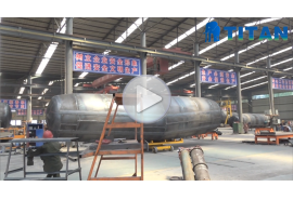 cement tank trailer factory show