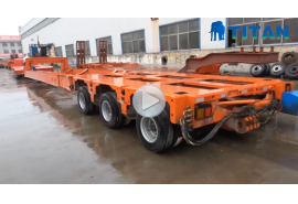 Extendable Trailer for Wind Blade
