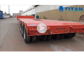 3 line 6 axle Lowbed Modular Trailer