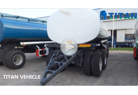 Drawbar Fuel Tanker Trailer