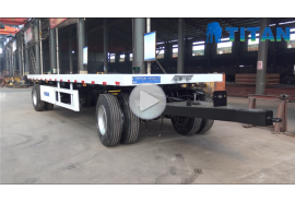 Drawbar Flatbed Trailer